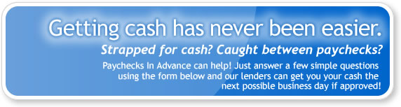 Getting cash fast has never been easier - just fill out the form below!